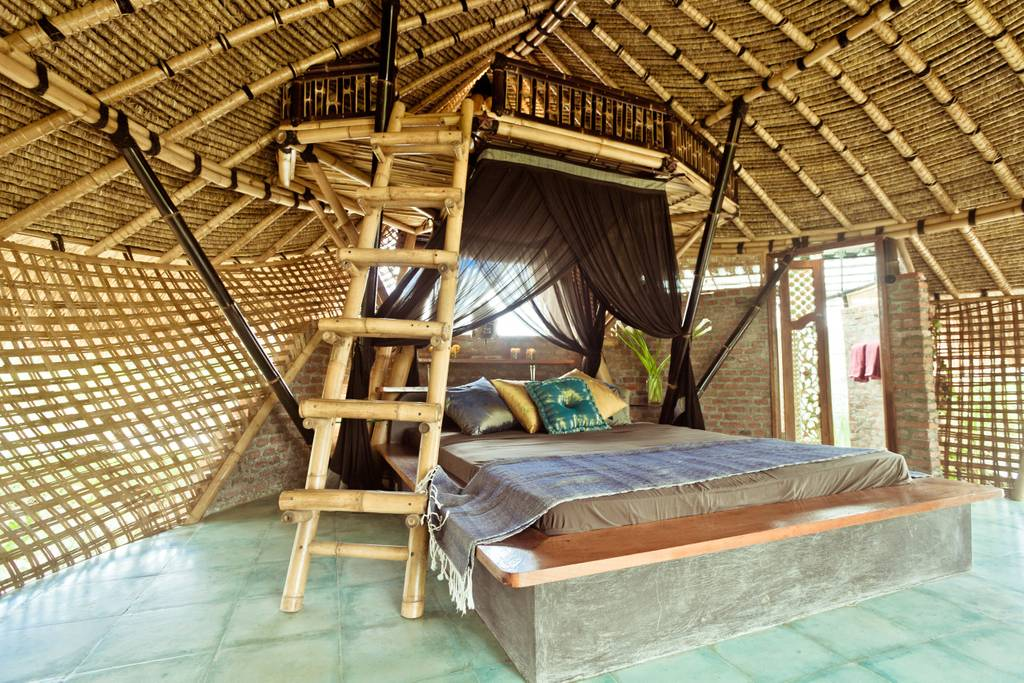 the bamboo eco cottage in bali