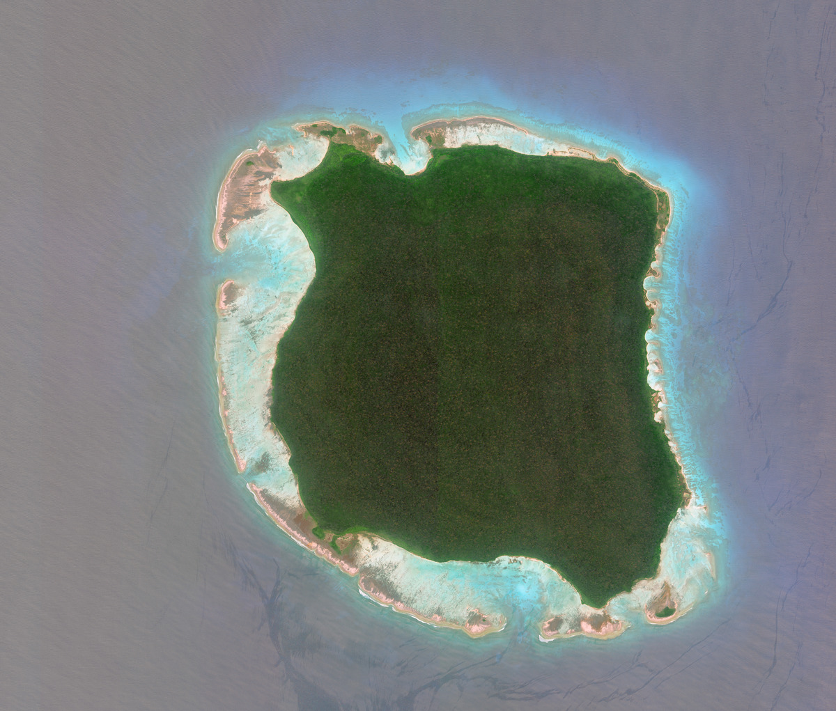 secret places north sentinel island