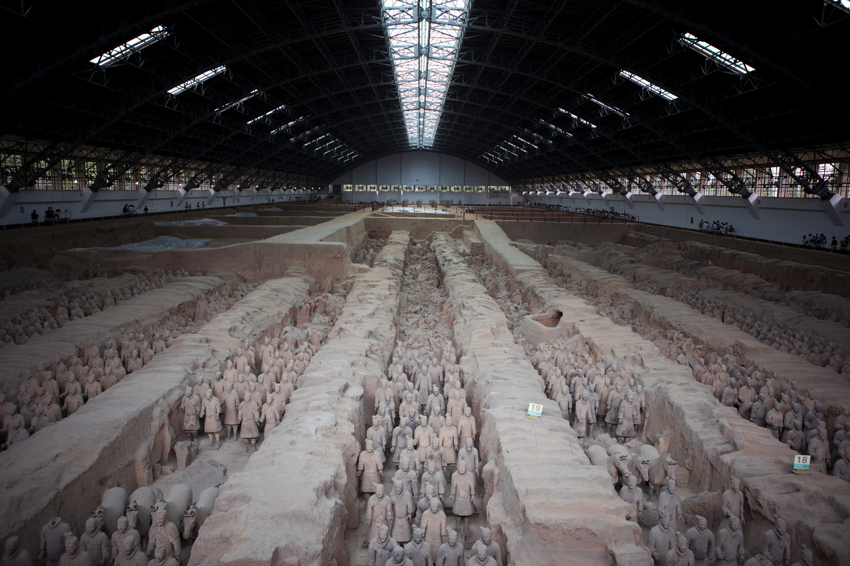 secret places terracotta warriors china