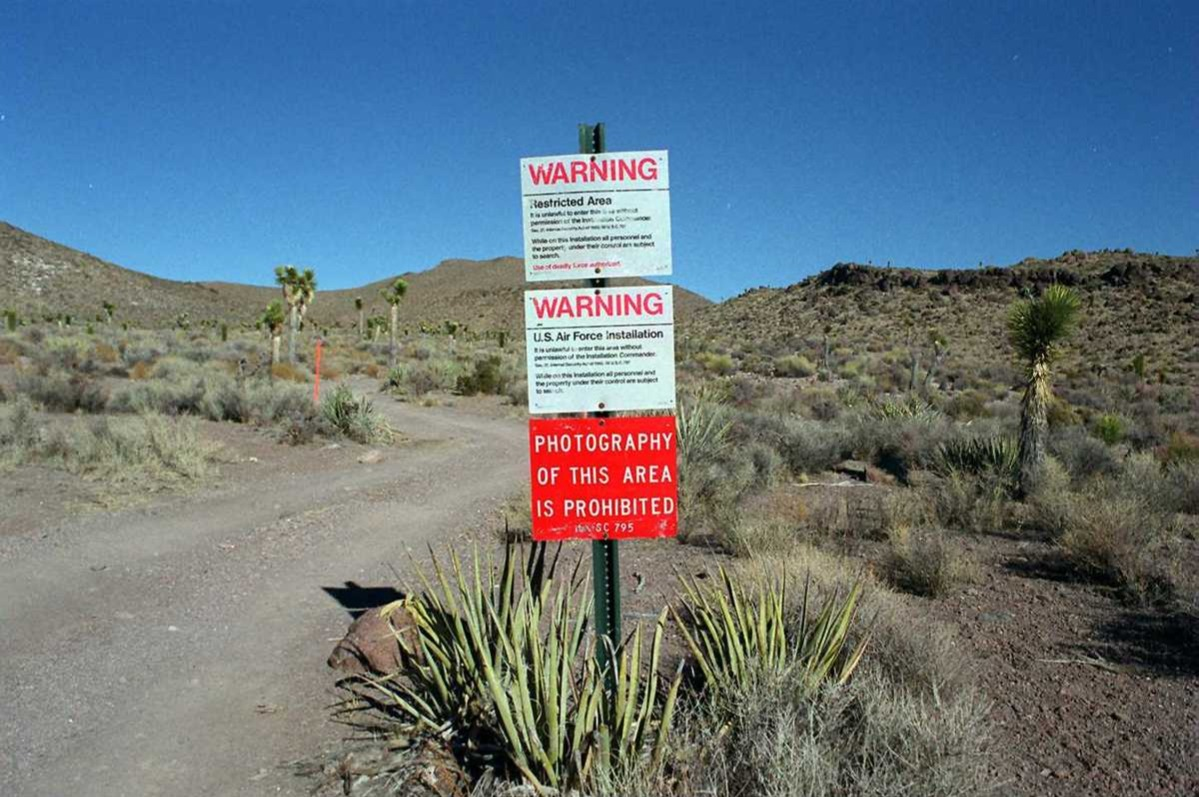 secret places area 51