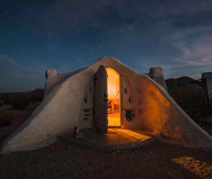 adobe dome airbnb in texas