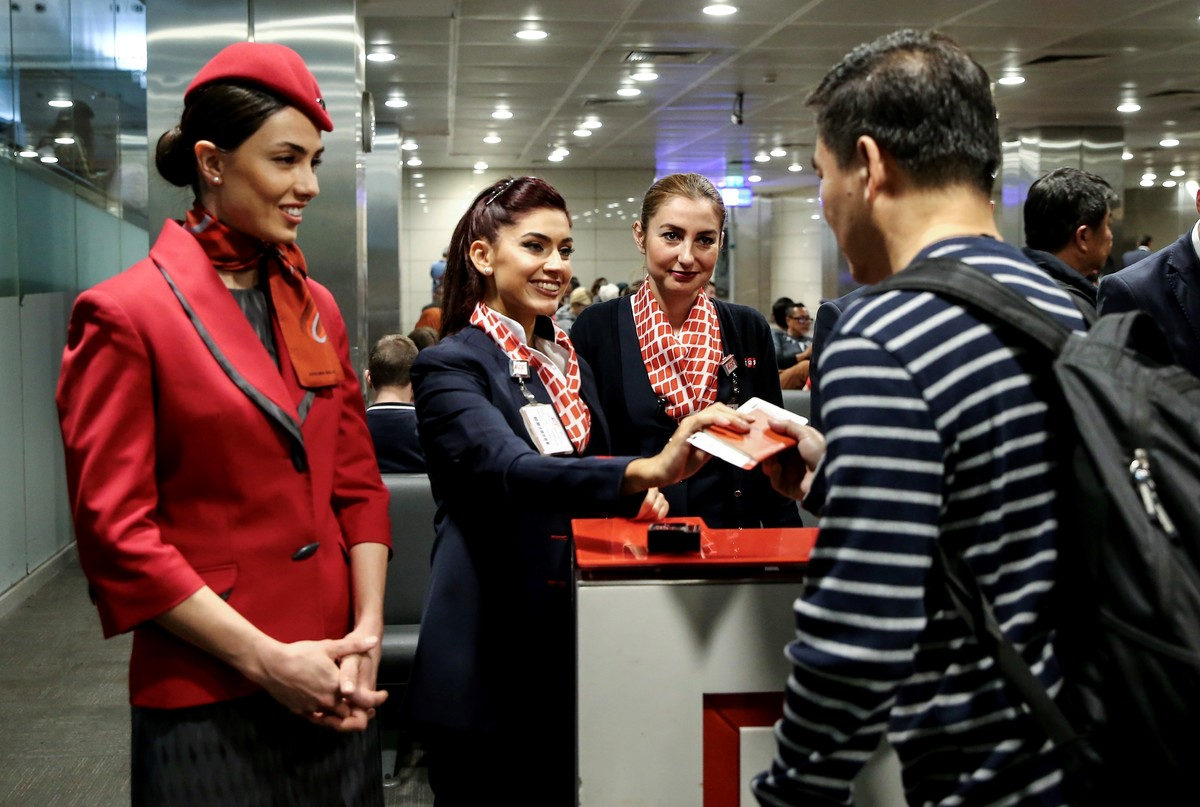 Turkish Airlines' last flight from Ataturk Airport