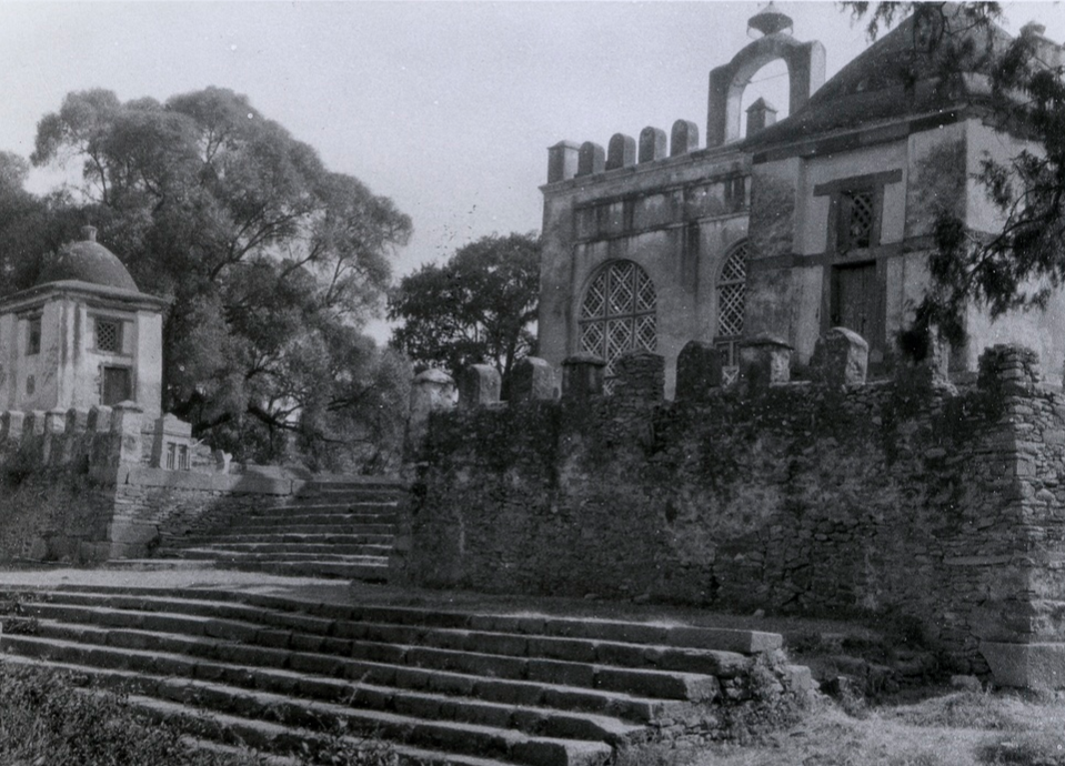 Church of Our Lady Mary of Zion, Axum, Ethiopia, photograph by Ugo Monneret de Villard, 1937.