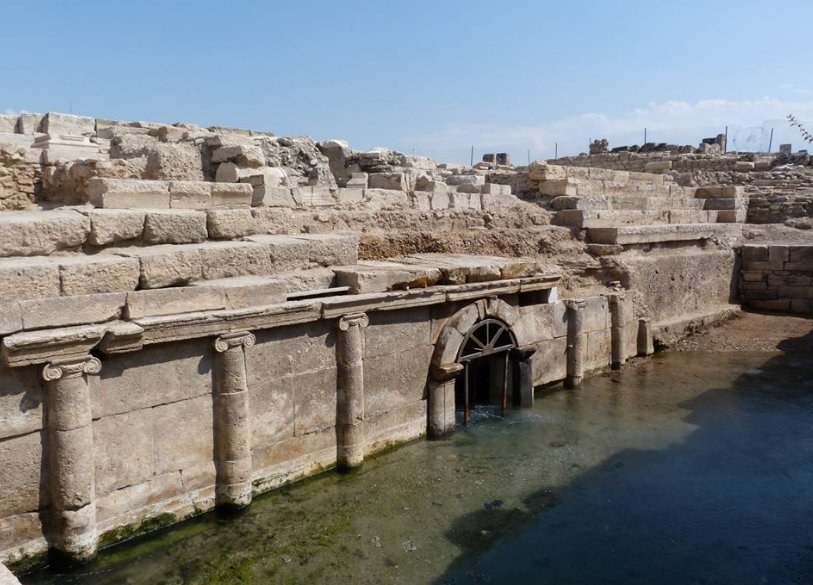 Pluto's Gate to Hell, otherwise known as Ploutonion of Hierapolis