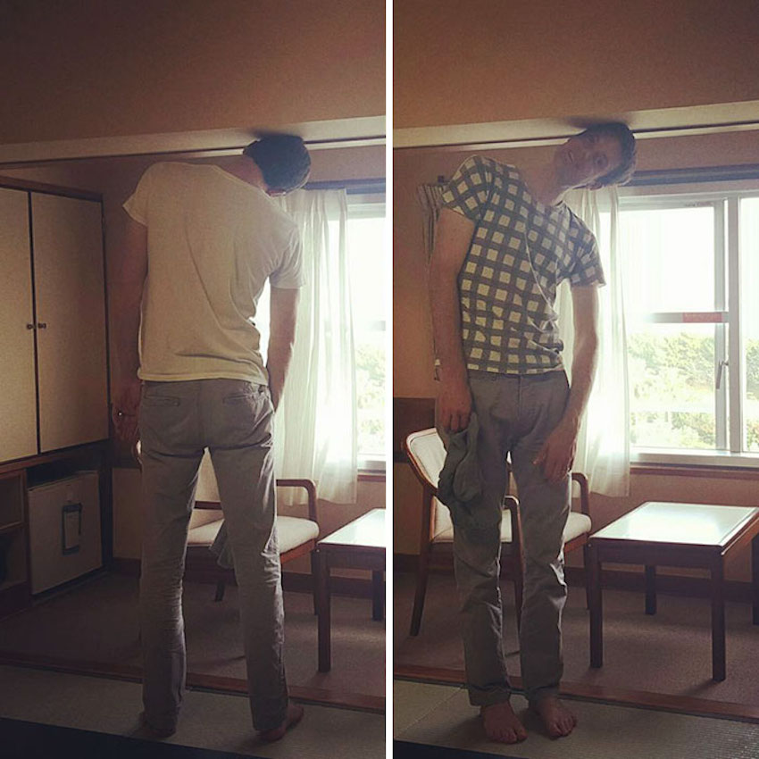 too tall for the room