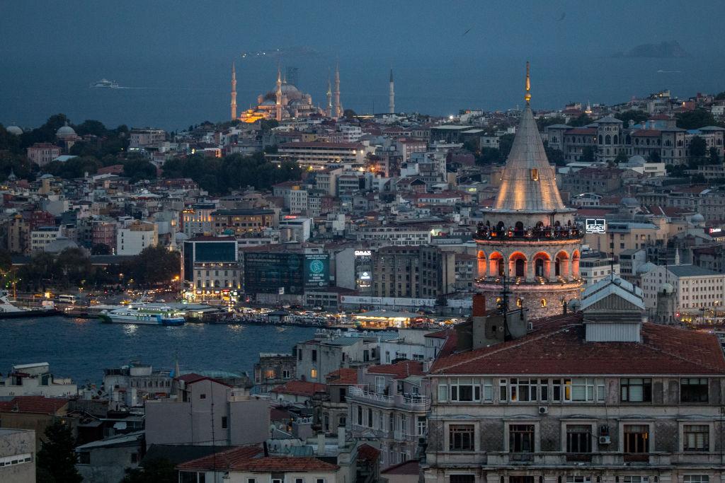 skyline of Turkey
