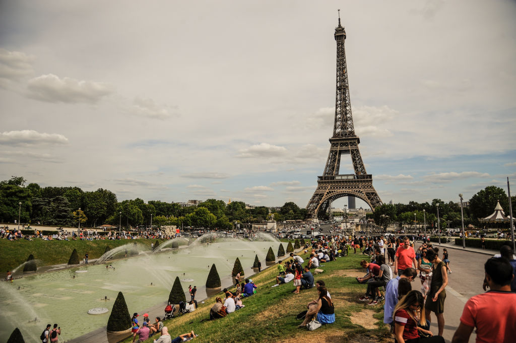 The Eiffel of Tower in Paris