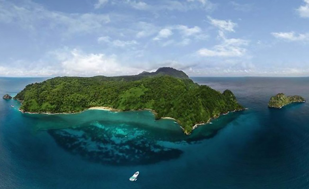 Picture of the islands