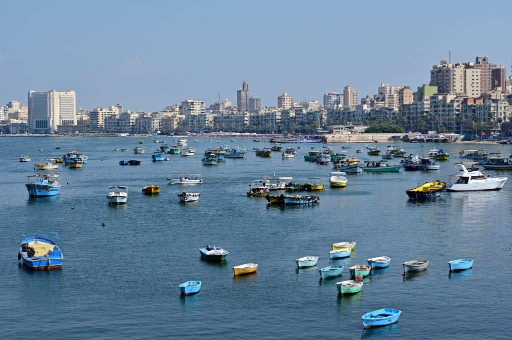 The Beaches In Alexandria, Egypt, Are Disappearing