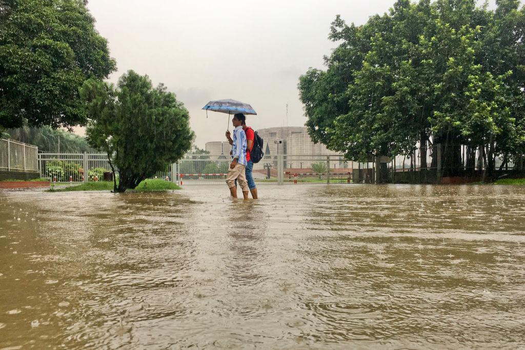 The People Of Dhaka, Bangladesh, Are Used To Flooding