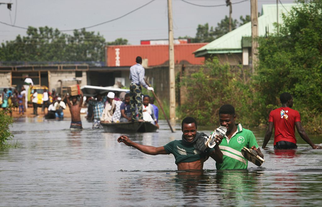 A Rise In Sea Levels In Lagos, Nigeria, Will Produce A 'Catastrophic Effect'