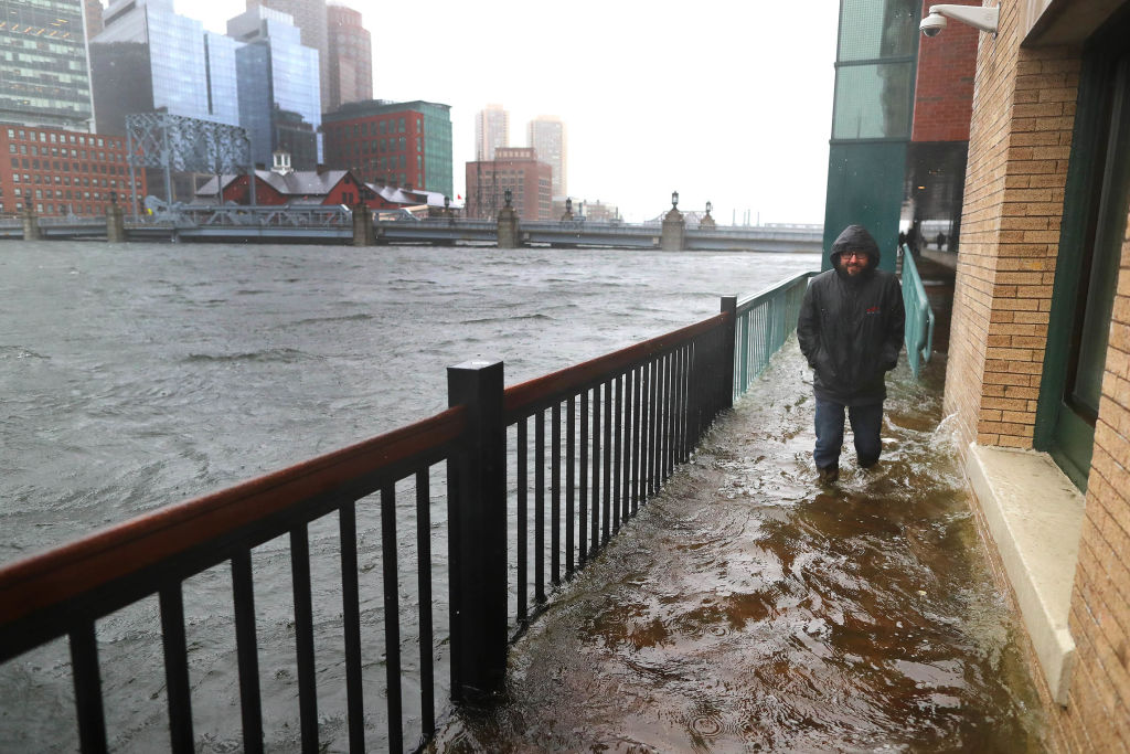 Boston May Be Partially Submerged By 2100