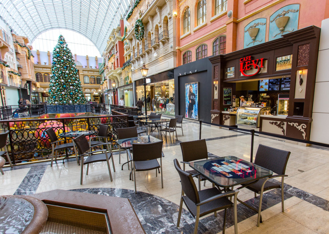 Shops in the West Edmonton Mall