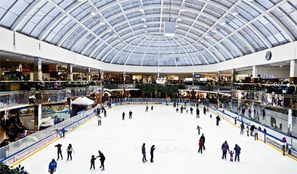 West Edmonton Mall's Ice Rink