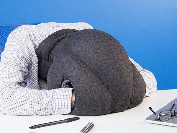 An Ostrich Pillow For When You Need That Extra Bit Of Privacy