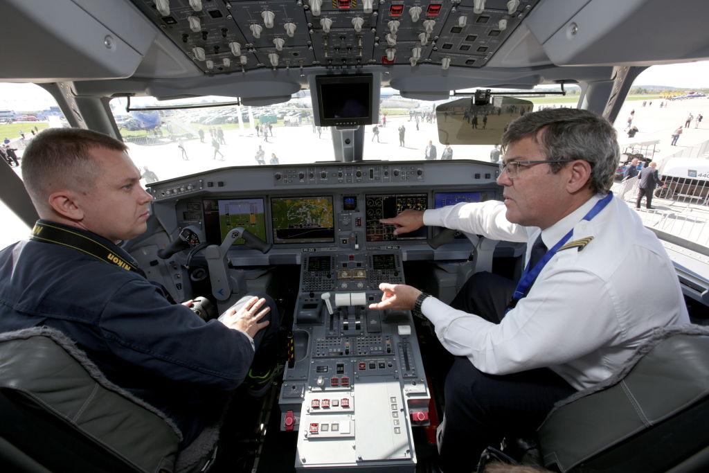 A Pilot and Copilot Converse