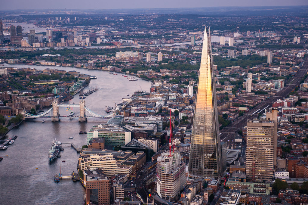 Views From And Around The Shard In England