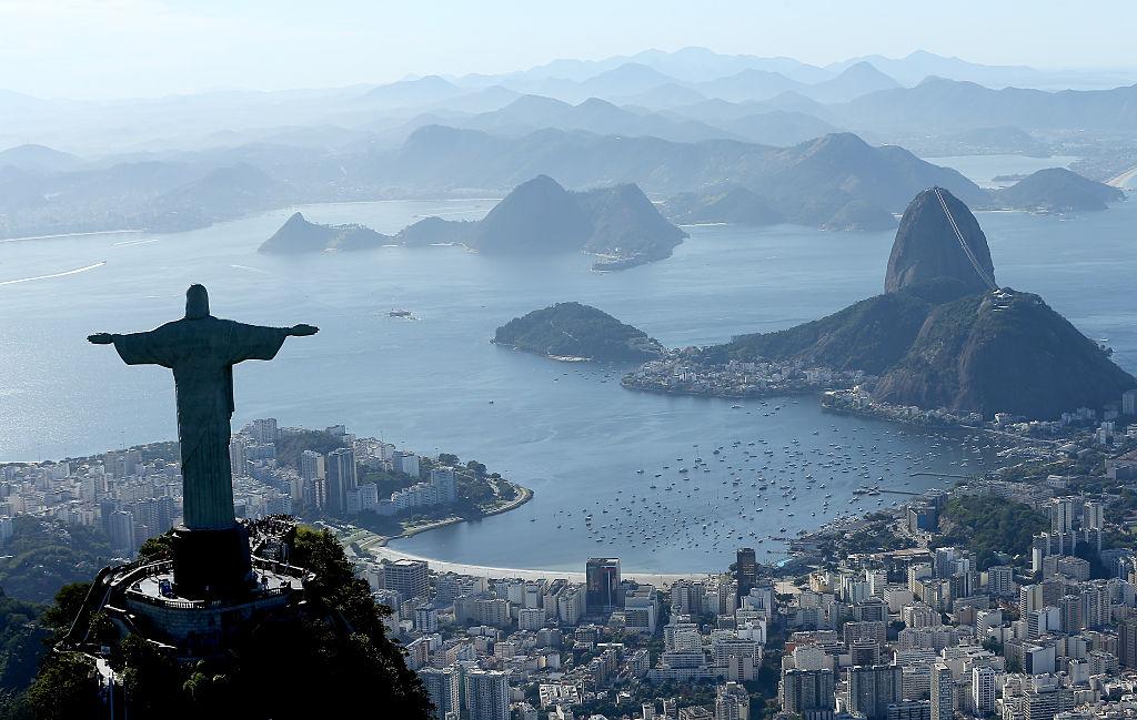 Views Of Rio de Janeiro, Brazil, From The Sky