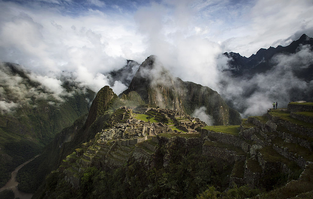 Helicopter Ride Around Machu Picchu, Peru
