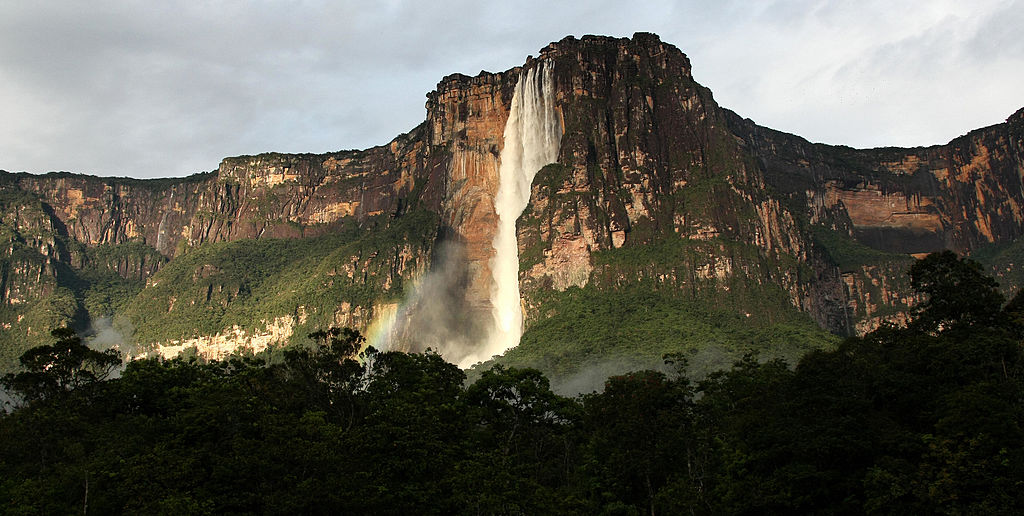 Ride To The Top Of Angel Falls In Venezuela