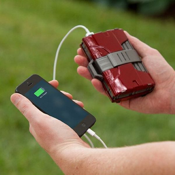 Channel Your Inner Iron Man With This Portable Charger