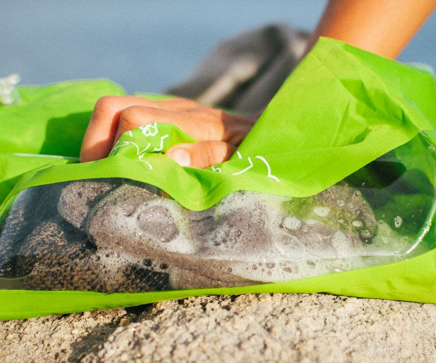 The Scrubba Wash Bag Will Scrub Away Clothing Grime In Minutes