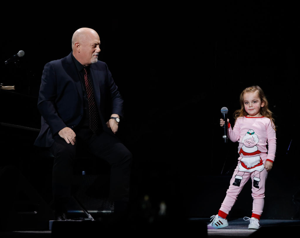 billy joel at madison square garden in new york