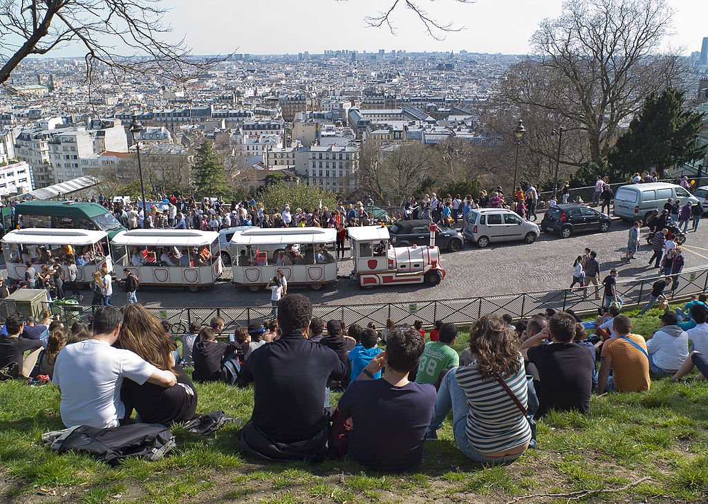 You're Better Off Walking Than Taking The Tourist Train Of Montmartre