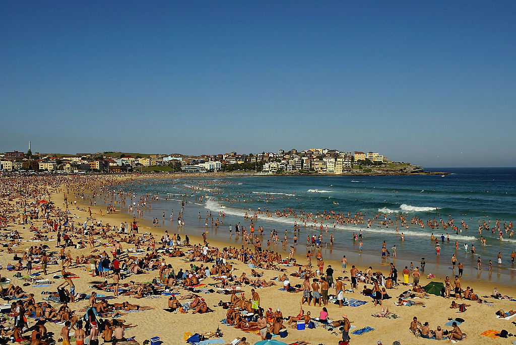 Good Luck Finding A Spot On The Sand At Bondi Beach