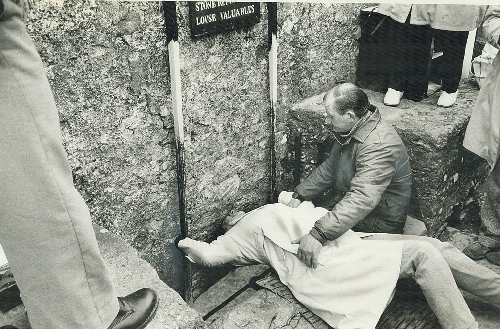 Kiss The Blarney Stone And Get Sick