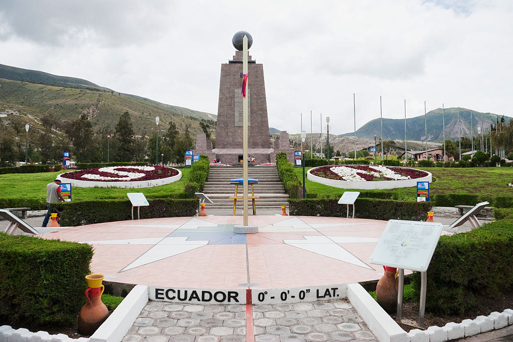 The Equator Monument In Ecuador Is Located At The Wrong Coordinates