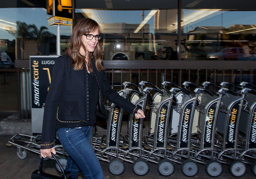 Jennifer Garner is seen at Los Angeles International Airport