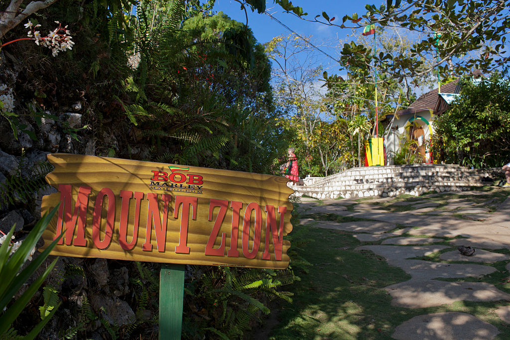 Nine Mile, where Bob Marley was born and living as a child, Jamaica. It is now a museum.