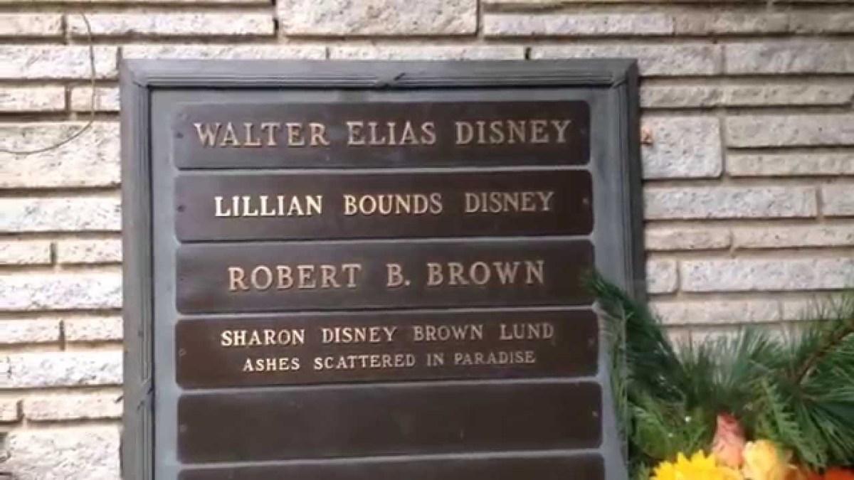 Disney grave