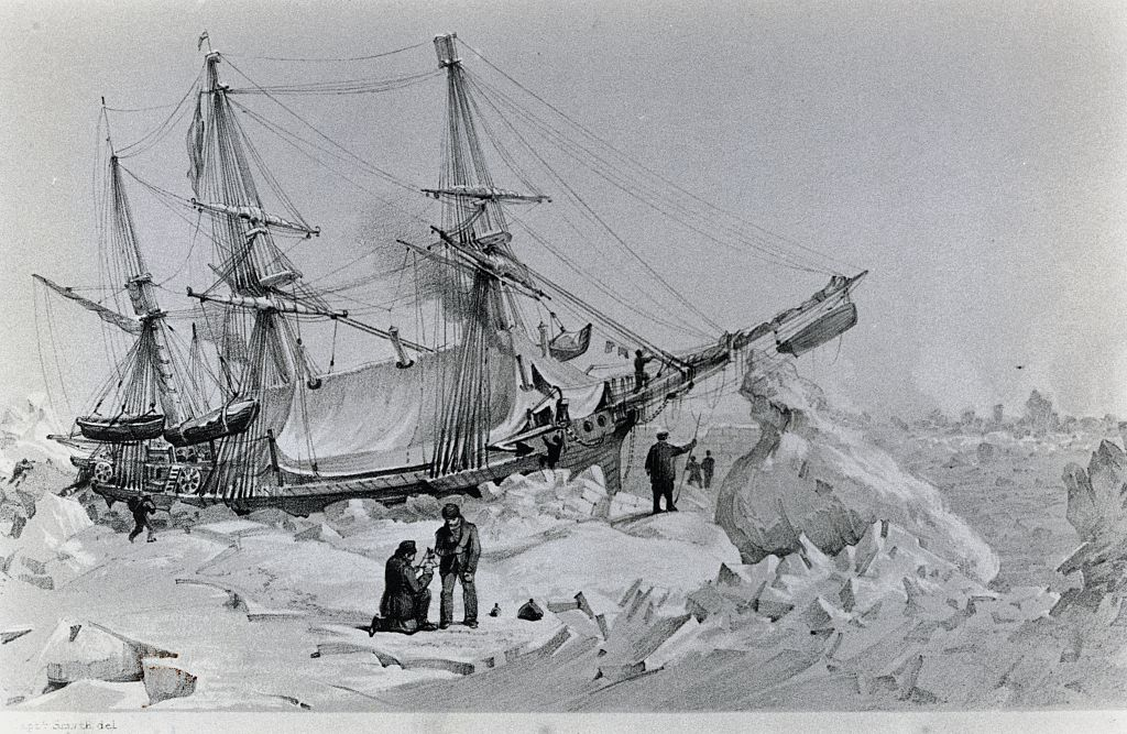 hms terror trapped in the ice