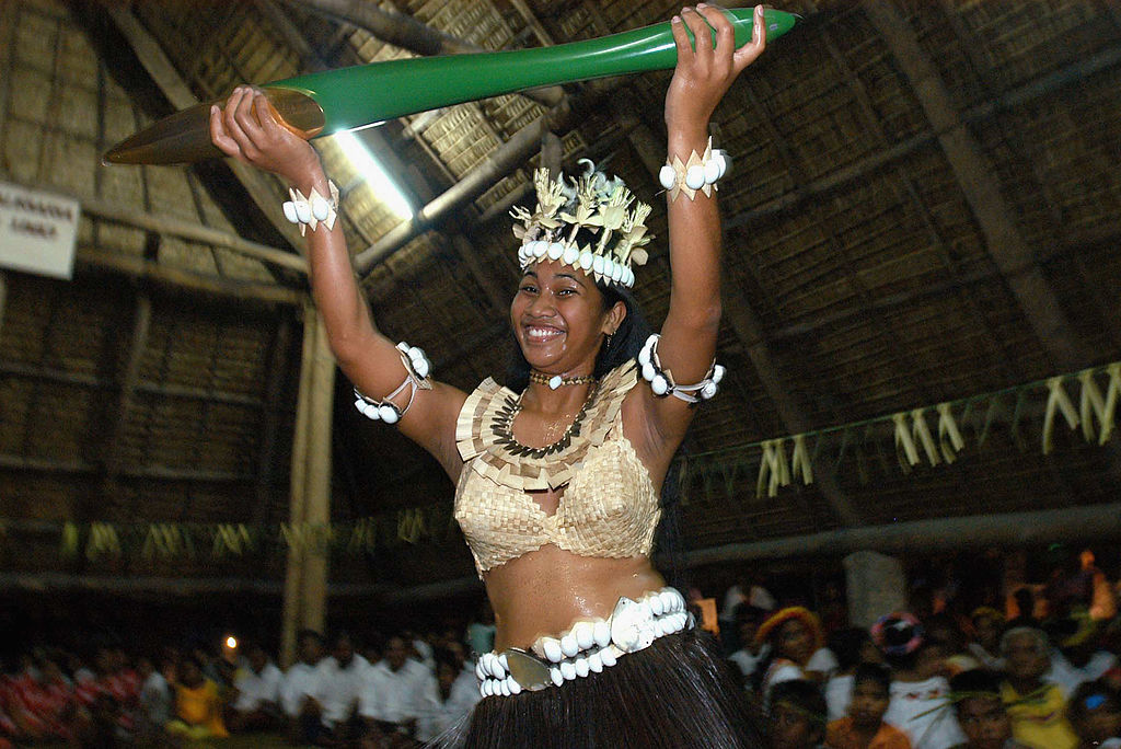 Miss Kiribati 2005, dances