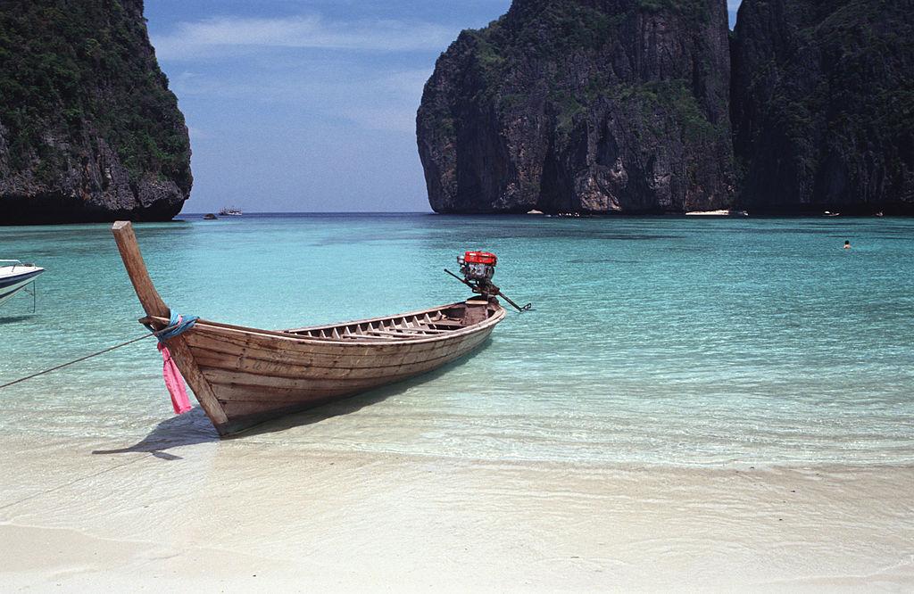 Maya Bay On Koh Phi Phi, Thailand