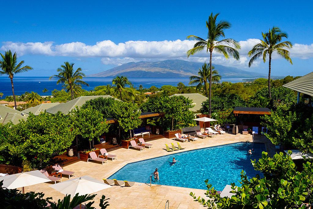 Hotel Wailea pool area
