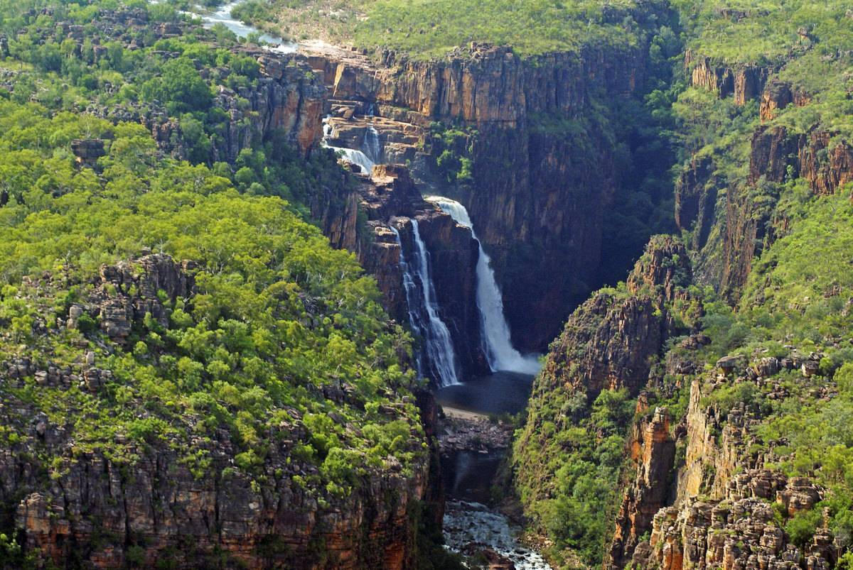 Australia's Kakadu National Park Twin Falls
