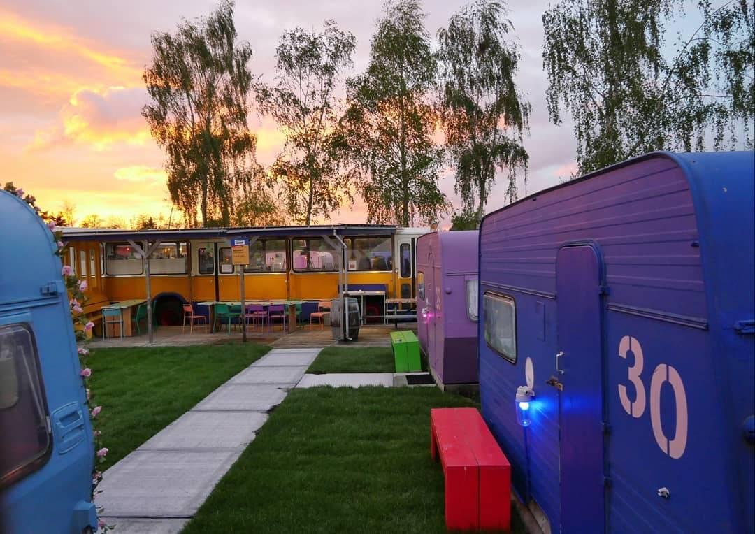 amsterdam campervan lucky lake hostel