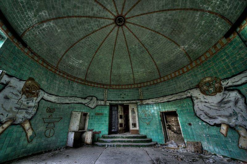 abandoned hospital in Germany