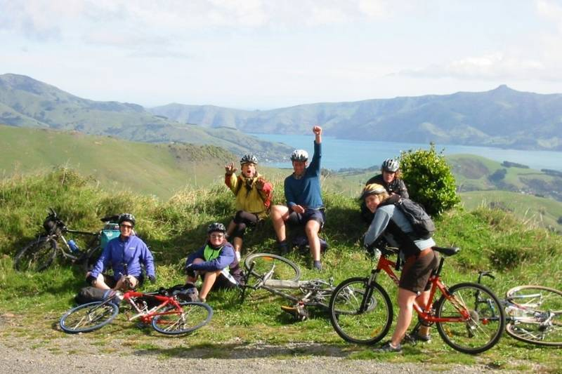 bike group tour in new zealand