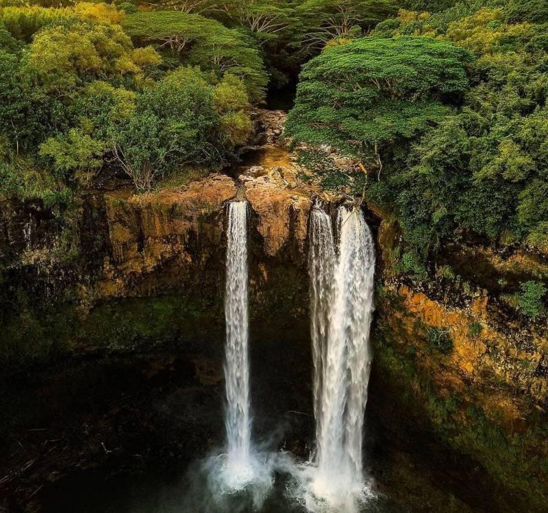 waterfall double