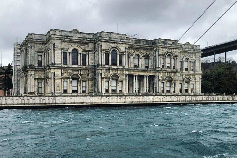 Beylerbeyi Palace Istanbul on the asian side