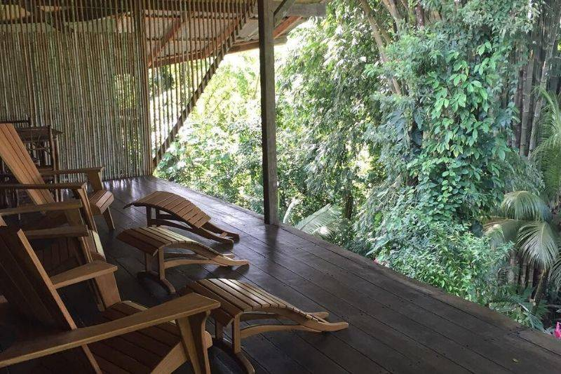 cascada verde hostel costa rica