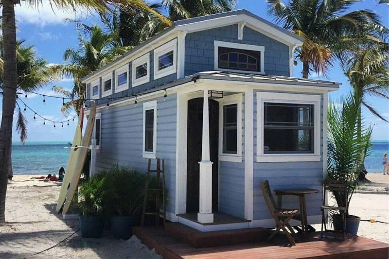 tiffany tiny home parked in florida