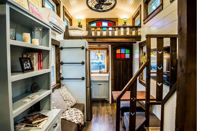 tiffany tiny home interior