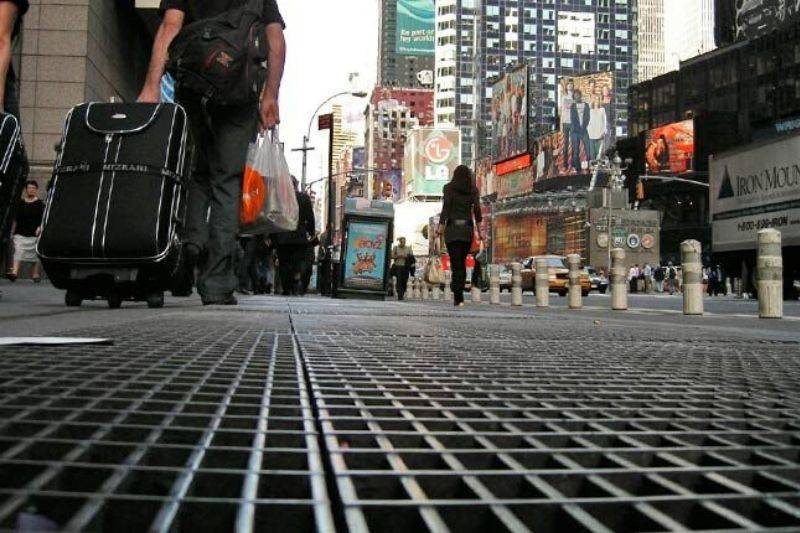 times square sound installation new york