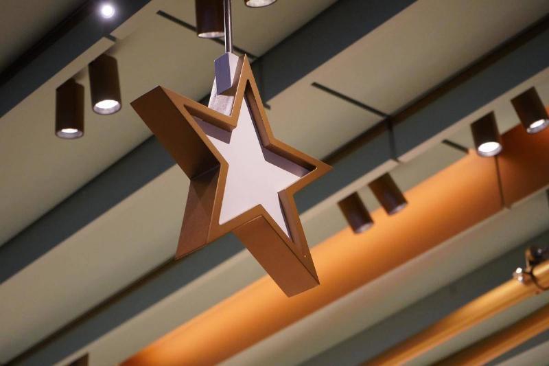 ceiling star