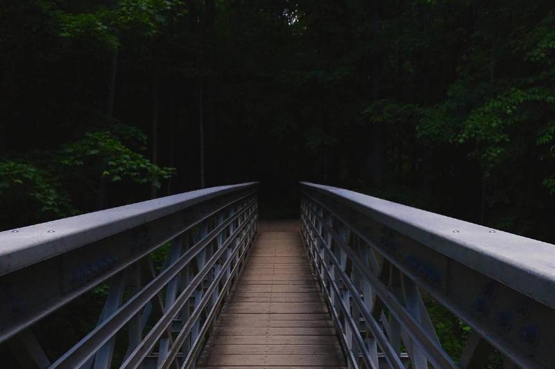 a bridge in Helltown, Ohio